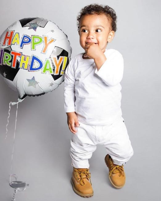 Aww! Solidstar releases adorable photos of his son as he clocks 1