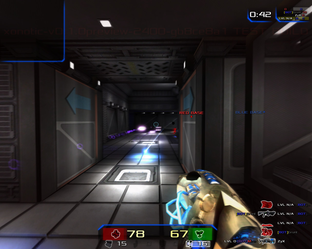 Free alternative games: Quake III: Arena free alternative or clone