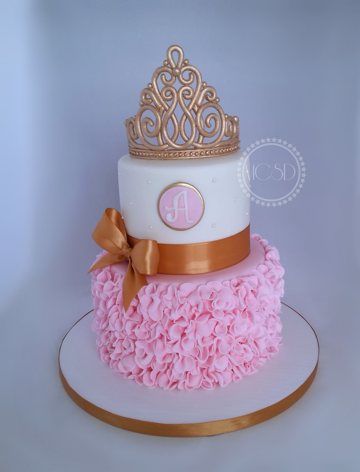 Princess Baby Shower Cake & Cookies & Cupcakes.
