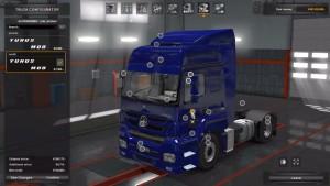 Mercedes Benz Axor truck mod V1
