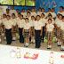 Halachó, escolares participan en concurso de interpretación del Himno Nacional