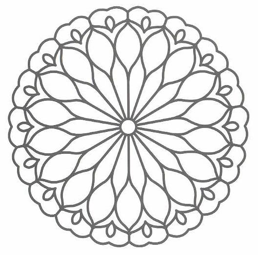 Print This Mandala Above