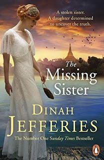 book cover of The Missing Sister by Dinah Jefferies