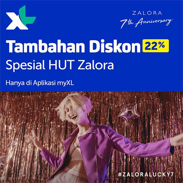 #XL - #Promo Tambahan Diskon Hingga 22% Belanja di Zalora (Cek Aplikasi MyXL)