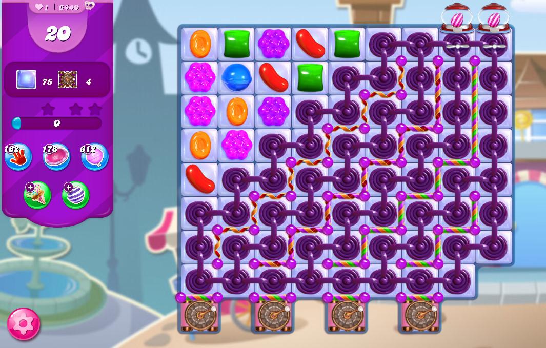 Candy Crush Saga level 6440