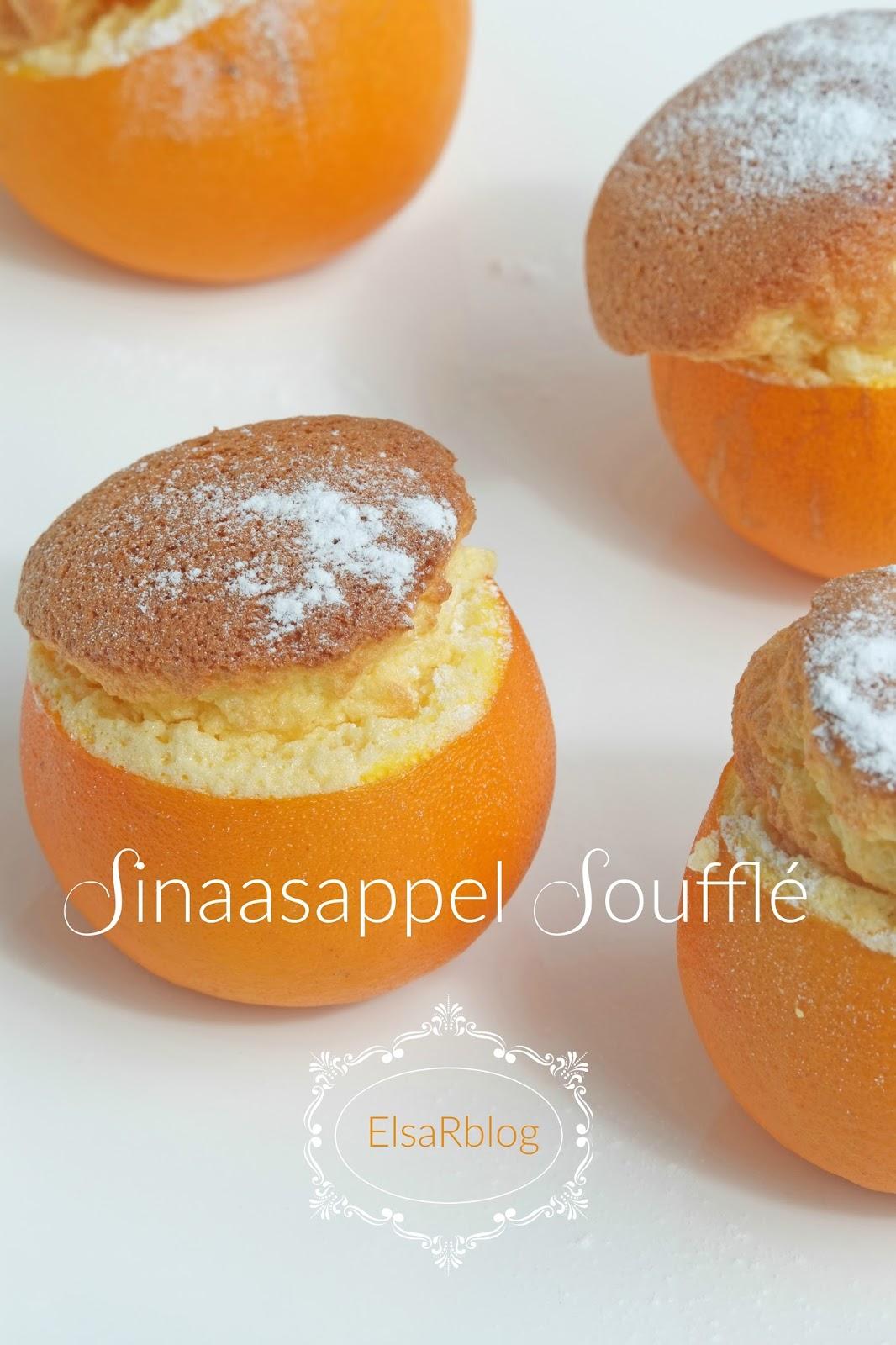 Sinaasappel soufflé - Desserts