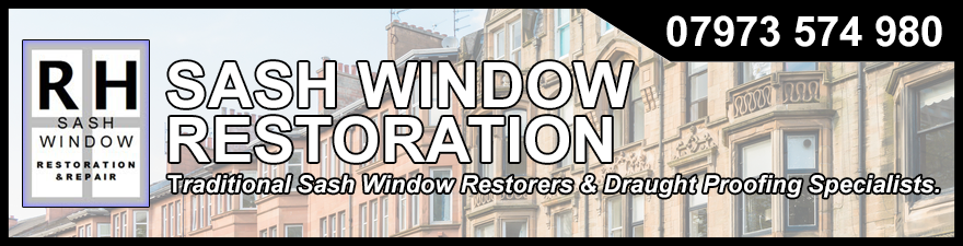RH Sash Window Restoration