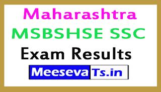 Maharashtra SSC Exam Result 2017