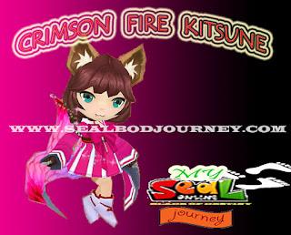 Crimson Fire Kitsune Seal Online BoD