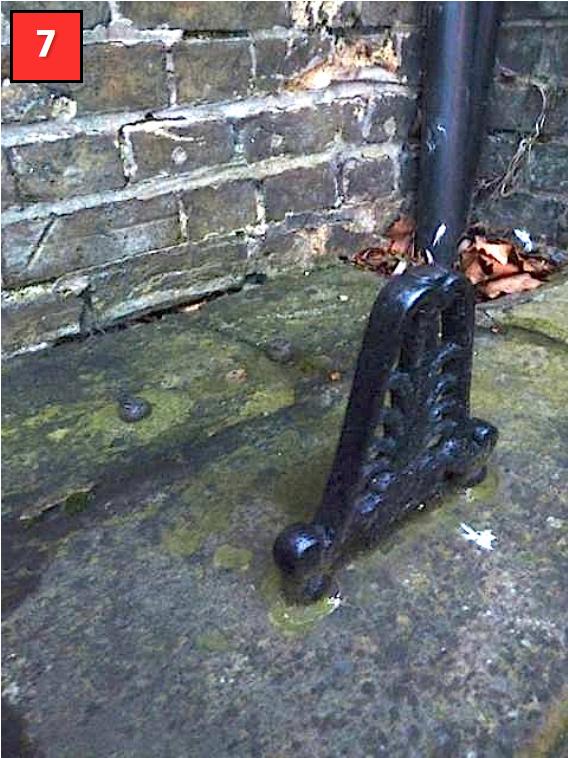 Boot scraper, St Ives, Cambridgeshire