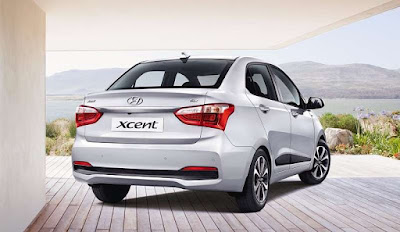 2017 Hyundai xcent facelift sub 4 meter sedan car