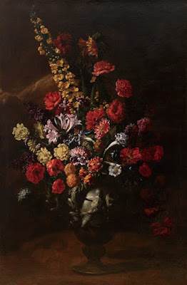 "The ""Flowers"" painting made by Italian painter Paolo Porpora"