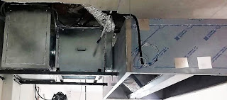 foto campana con caja extracción en madrid