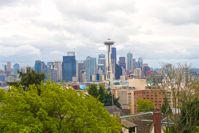best views of Seattle from Kerry Park in Queen Anne Hill
