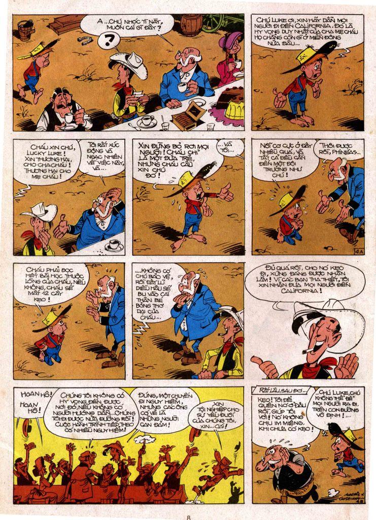 Lucky Luke tap 3 - doan lu hanh trang 4