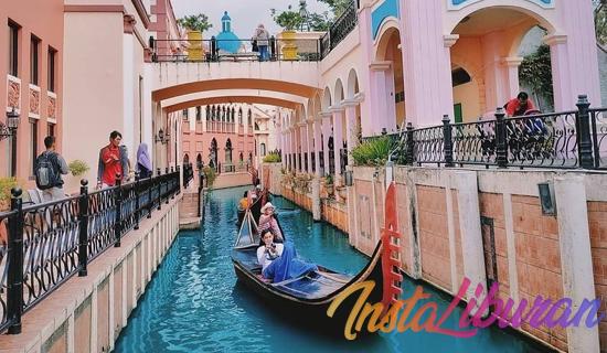 InstaLiburan - Little Venice Cianjur Wisata Lokal Bak Italia