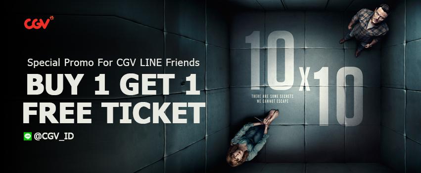 CGV - Promo LINE Kupon Buy 1 Get 1 Free (s.d 06 Sept 2018)
