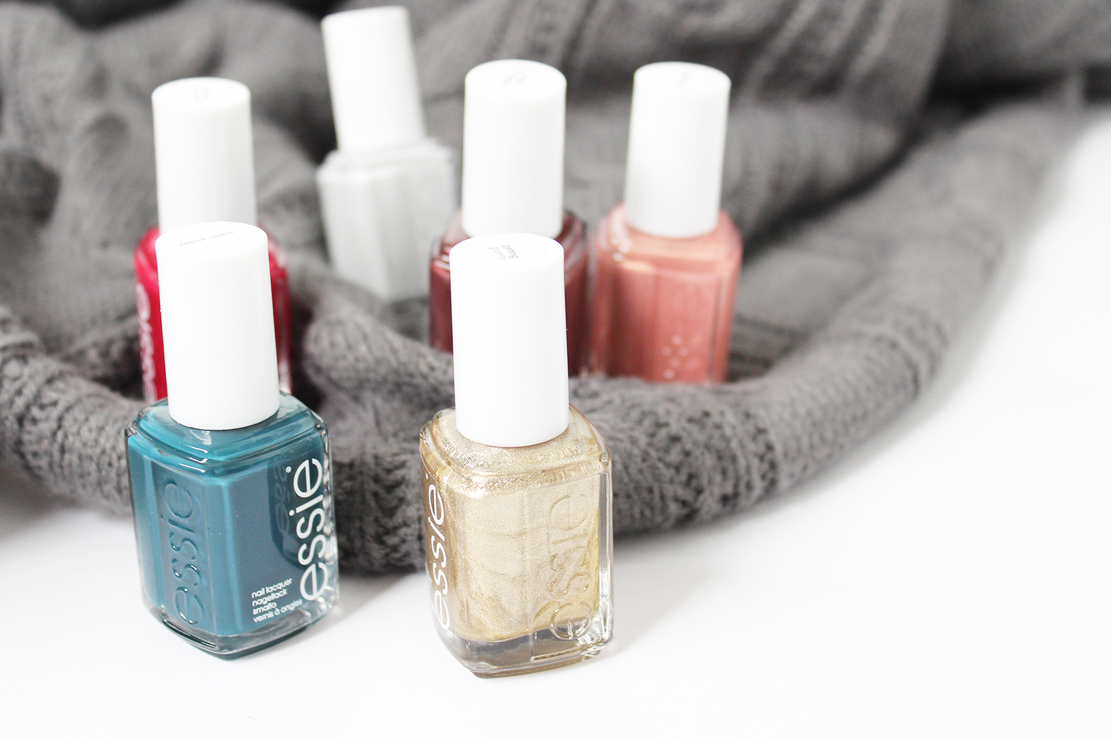 ESSIE | Winter Collection - Review + Swatches - CassandraMyee
