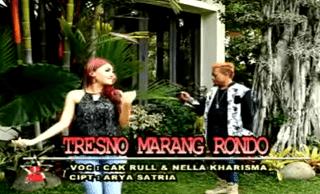 Lirik Lagu Tresno Marang Rondo - Nella Kharisma
