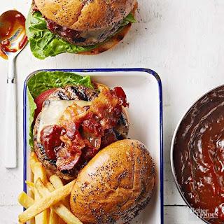 Bacon Cheeseburgers with Kentucky Bourbon Sauce