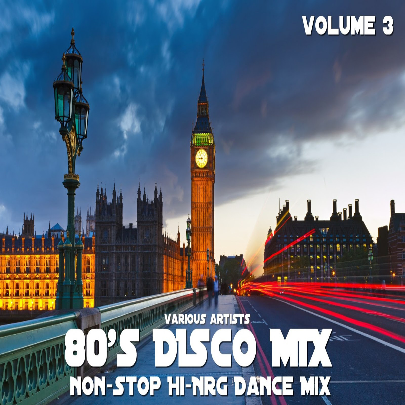 RETRO DISCO HI-NRG: 80s DISCO MIX - VOLUME 3 (Non-Stop Hi