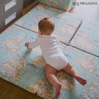 comprar colchoneta suelo bebé mapamundi blog mimuselina gatear es fundamental la importancia del gateo
