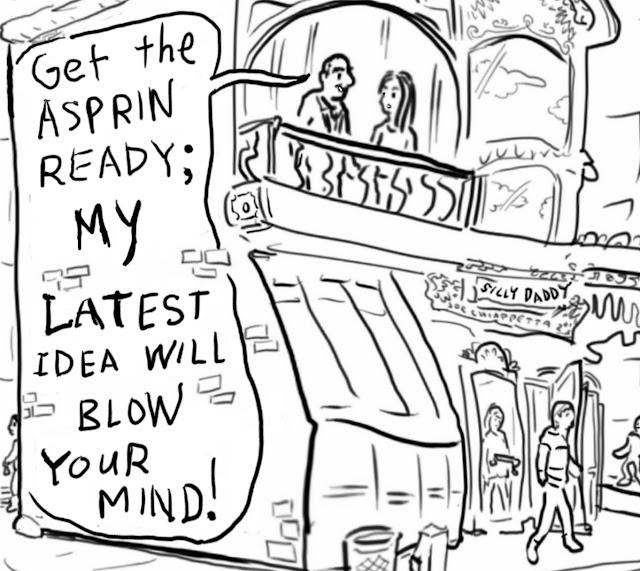 Silly Daddy Brain Business Comic by Joe Chiappetta panel 2