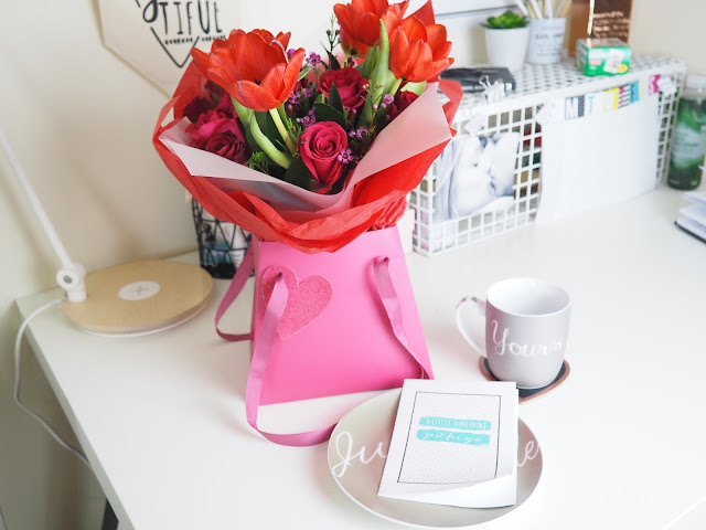 next.co.uk Valentine's day flowers and card