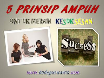 5 Prinsip Ampuh Untuk Meraih Kesuksesan
