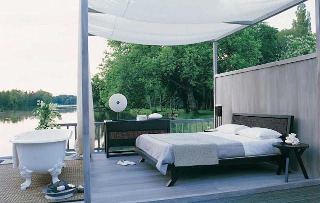 Kamar Tidur Outdoor yang Sejuk
