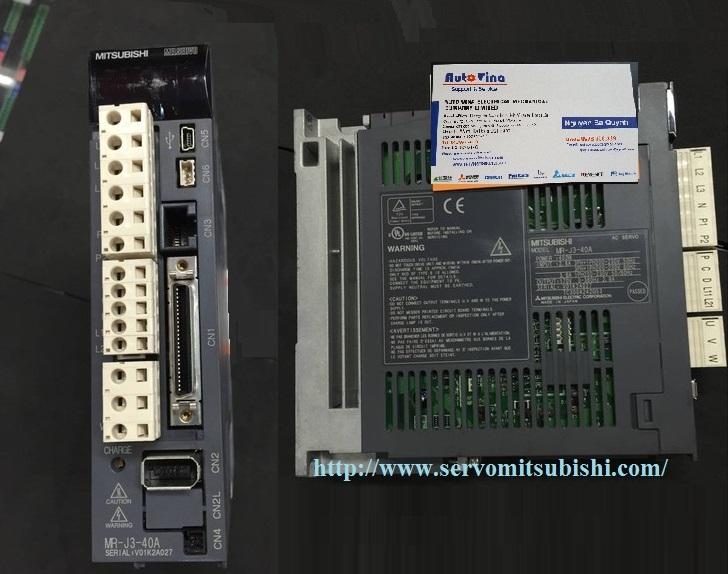 Đại lý bán Drive Servo Mitsubishi MR-J3-40A 0.4kW, nhà phân phối bảo hành sửa chữa Servo Mitsubishi