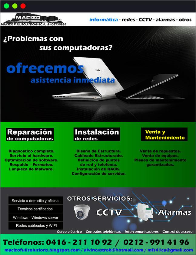macizo flyer