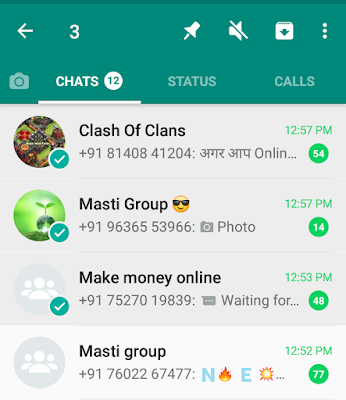"how to hide whatsapp chat, hide whatsapp chat, whatsaap ka chat hide kaise kare, hide chat trick, whatsaap tips and tricks, whatsaap new features, whatsapp hidden tips and tricks, /></a></div> <br /> Phir Aapke Right Hand Side Me 3 Dot Dikhega Uspe Click Karna Hai Phir Aapko Last Me Ya Uske Upar 👆 <b>Hide </b>Ka Option Dikh Raha Hai Jis Tarha Photo Me Dikhaya Gaya Hai.<br /> <div class=""separator"" style=""clear: both; text-align: center;""> <a href=""https://4.bp.blogspot.com/-qgFp4FvYOxg/XBb3HHZth0I/AAAAAAAAAQ8/R4Qwwt6QQggsOXE5mpv3eCloiUu5cO6mwCLcBGAs/s1600/Screenshot_20181216-213900%257E01.png"" imageanchor=""1"" style=""margin-left: 1em; margin-right: 1em;""><img border=""0"" data-original-height=""792"" data-original-width=""720"" height=""400"" src=""https://4.bp.blogspot.com/-qgFp4FvYOxg/XBb3HHZth0I/AAAAAAAAAQ8/R4Qwwt6QQggsOXE5mpv3eCloiUu5cO6mwCLcBGAs/s400/Screenshot_20181216-213900%257E01.png"" width=""362""alt="