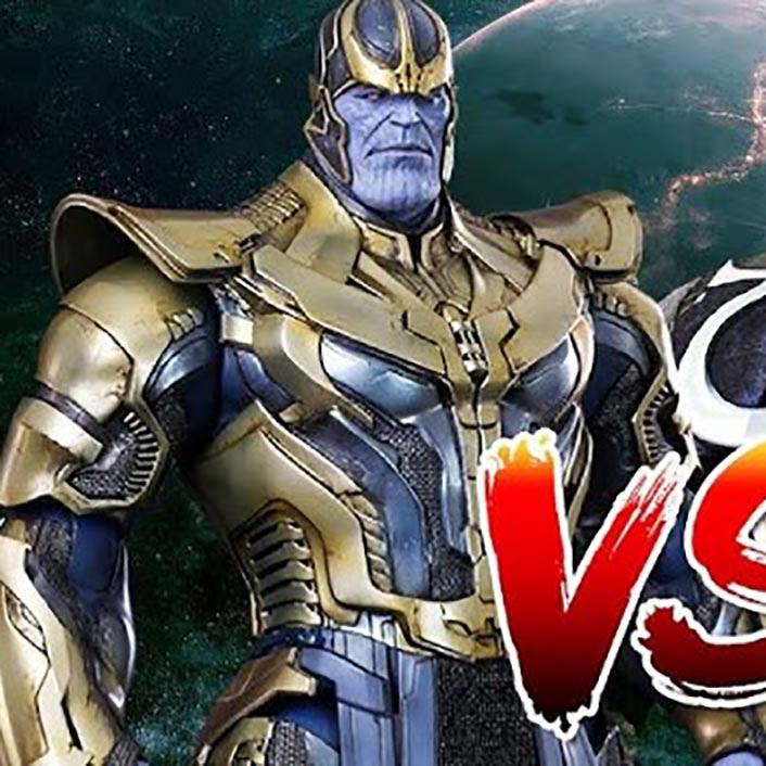 Thanos vs Darkseid, the Supreme Supervillain duel