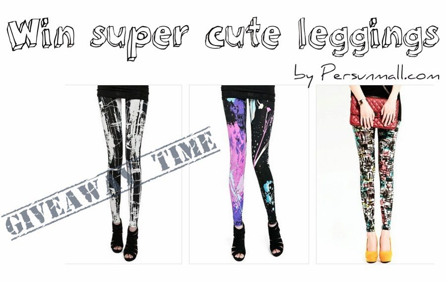GIVEAWAY TIME: Win super cute leggings by Persunmall - CLOSED