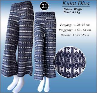 Celana kulot panjang - Diva
