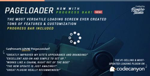 PageLoader v2.7 – Loading Screen and Progress Bar for WordPress