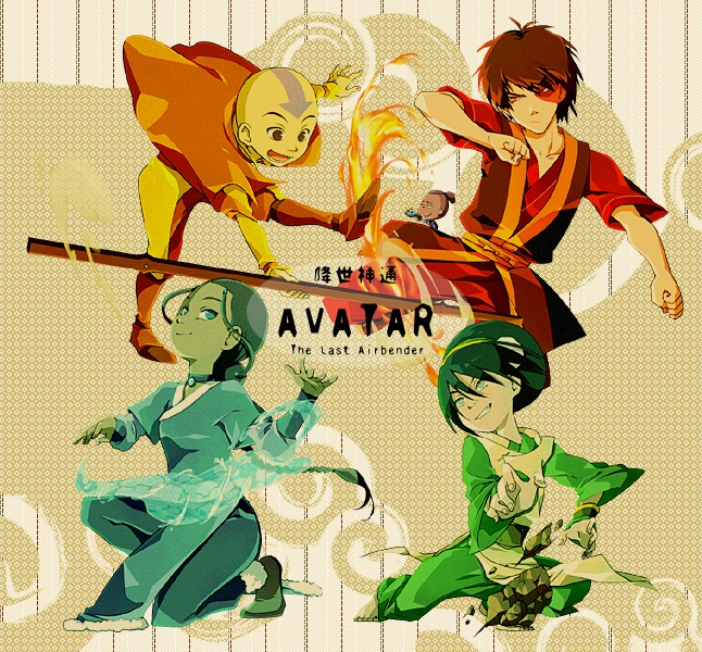 The Last Airbender All Avatars: Anime: Avatar: The Last Airbender