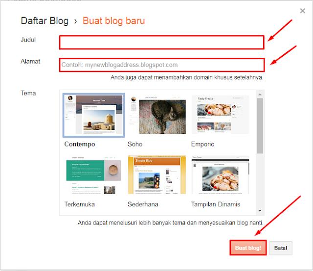 Cara Paling Gampang Membuat Blog Dalam 10 Menit Gratis