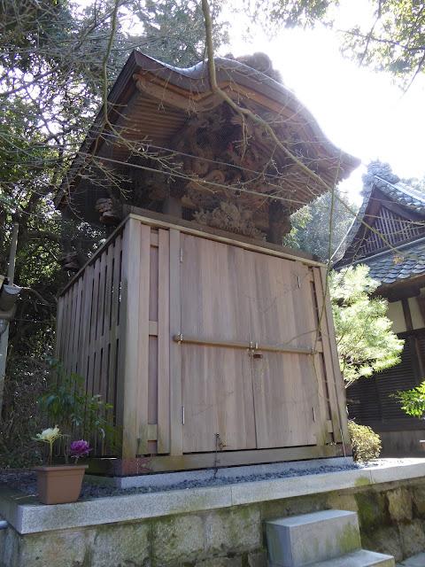 御机神社 末社『神明社・稲田社』