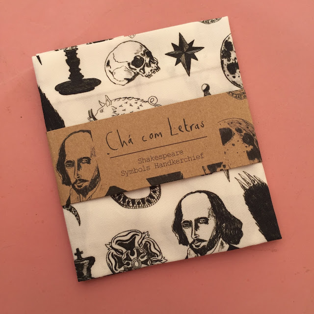 SHAKESPEARE SYMBOLS HANDKERCHIEF POCKET SQUARE