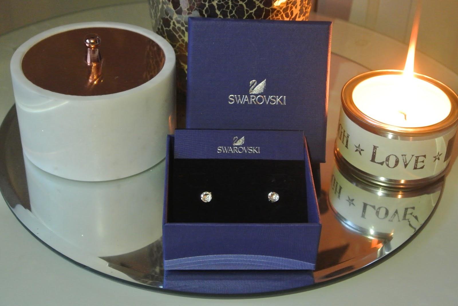 Swarovski Solitaire Stud Earrings from Jewel Hut Image