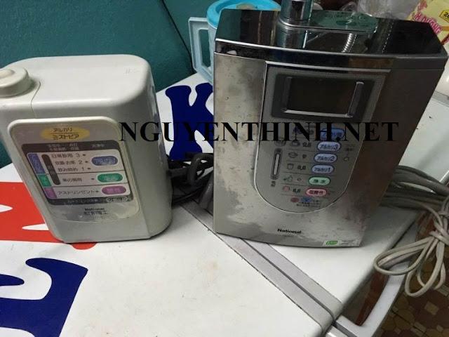 Chọn mua máy lọc nước ion kiềm nhật cũ