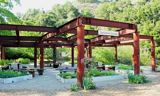 Central California Wedding Venues Sycamore Mineral Springs Resort San Luis Obispo CA