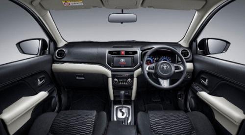 Interior design Toyota Rush