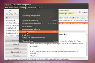 Flash pugin installer javítás Ubuntu