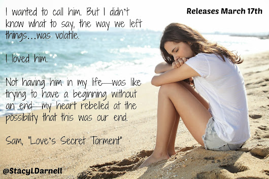 One more week until Love's Secret Torment Releases!!! Here's a teaser!