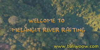 Melangit, Bali Rafting River.