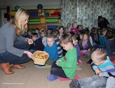 Andacht im Kindergarten