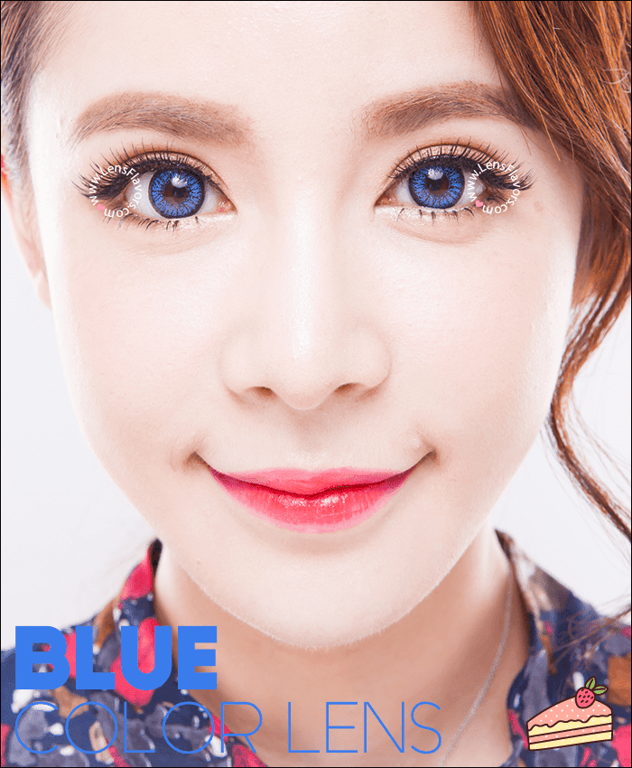 venus eye blue colored contacts